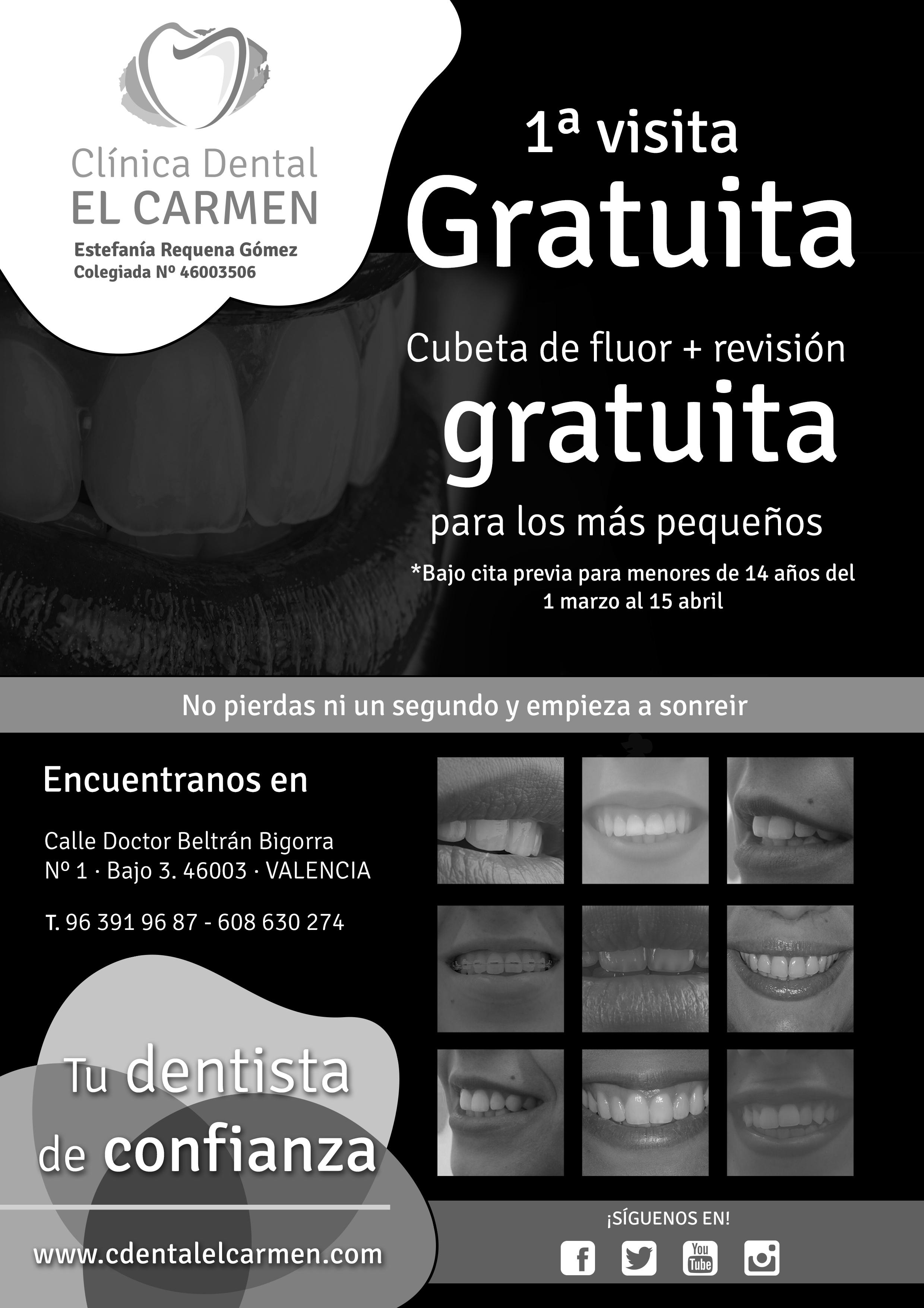 Cl nica dental el carmen descuento fallero en la cl nica for Clinica dental el escorial